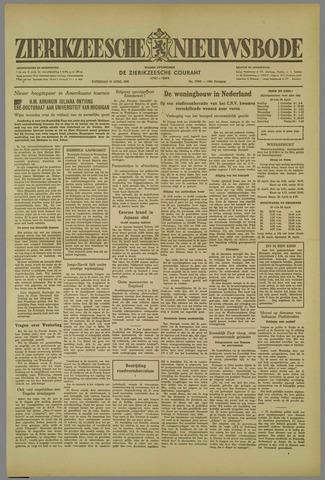 Zierikzeesche Nieuwsbode 1952-04-19