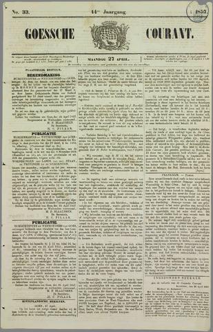 Goessche Courant 1857-04-27