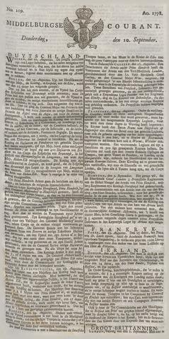 Middelburgsche Courant 1778-09-10