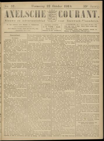 Axelsche Courant 1919-10-22