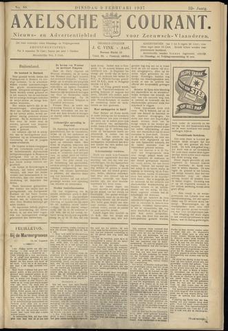 Axelsche Courant 1937-02-09