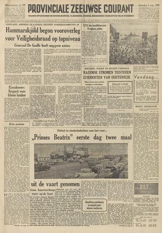 Provinciale Zeeuwse Courant 1958-08-02