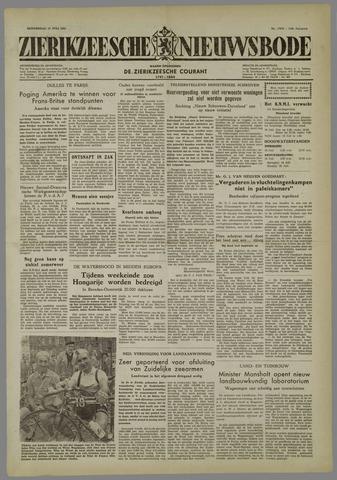 Zierikzeesche Nieuwsbode 1954-07-15