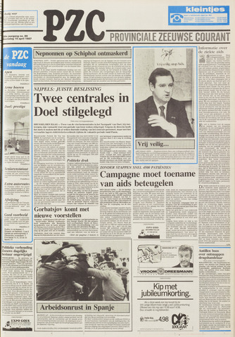 Provinciale Zeeuwse Courant 1987-04-15