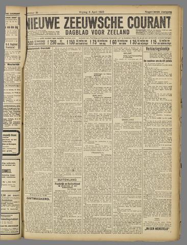 Nieuwe Zeeuwsche Courant 1923-04-06