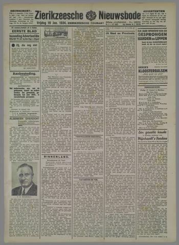 Zierikzeesche Nieuwsbode 1934-01-19