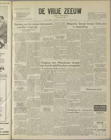 de Vrije Zeeuw 1958-02-07