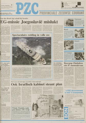 Provinciale Zeeuwse Courant 1991-08-05
