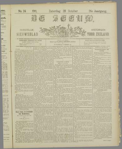 De Zeeuw. Christelijk-historisch nieuwsblad voor Zeeland 1911-10-28