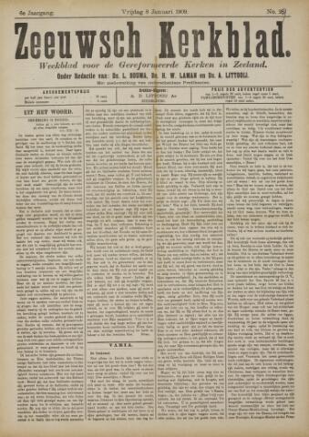 Zeeuwsche kerkbode, weekblad gewijd aan de belangen der gereformeerde kerken/ Zeeuwsch kerkblad 1909-01-08