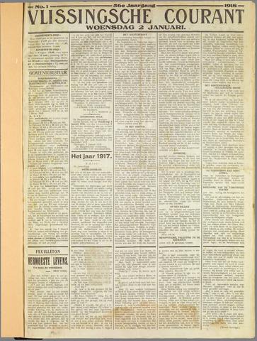 Vlissingse Courant 1918