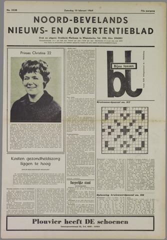 Noord-Bevelands Nieuws- en advertentieblad 1969-02-15