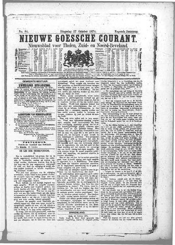 Nieuwe Goessche Courant 1874-10-27