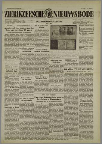 Zierikzeesche Nieuwsbode 1954-11-18