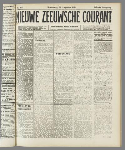 Nieuwe Zeeuwsche Courant 1912-08-29
