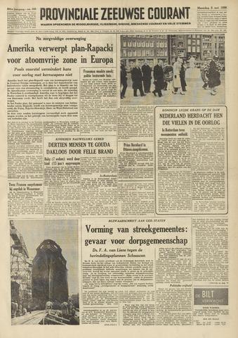 Provinciale Zeeuwse Courant 1958-05-05