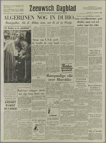 Zeeuwsch Dagblad 1959-11-16