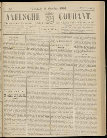 Axelsche Courant 1907-10-09