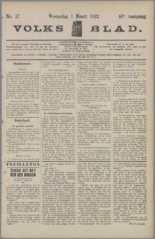 Volksblad 1922-03-01