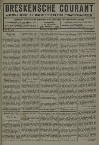 Breskensche Courant 1920-04-21