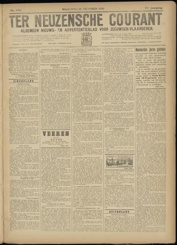 Ter Neuzensche Courant. Algemeen Nieuws- en Advertentieblad voor Zeeuwsch-Vlaanderen / Neuzensche Courant ... (idem) / (Algemeen) nieuws en advertentieblad voor Zeeuwsch-Vlaanderen 1931-10-26