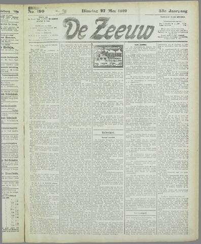 De Zeeuw. Christelijk-historisch nieuwsblad voor Zeeland 1919-05-27