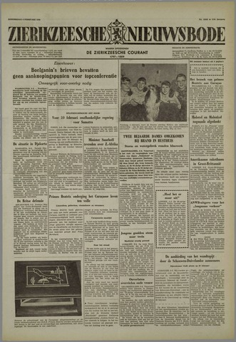 Zierikzeesche Nieuwsbode 1958-02-06