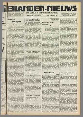 Eilanden-nieuws. Christelijk streekblad op gereformeerde grondslag 1949-08-13