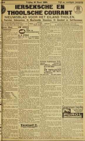 Ierseksche en Thoolsche Courant 1928-03-16