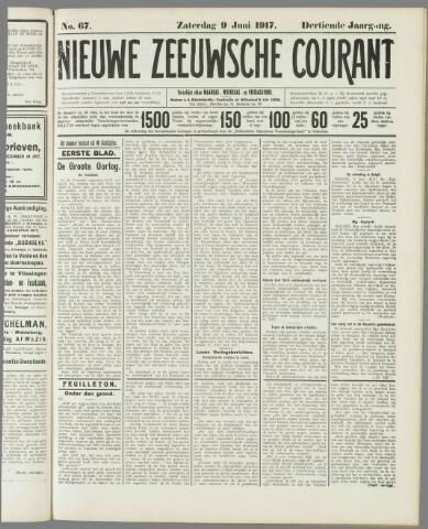 Nieuwe Zeeuwsche Courant 1917-06-09