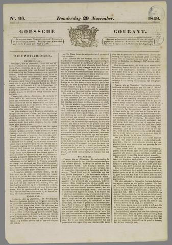 Goessche Courant 1849-11-29