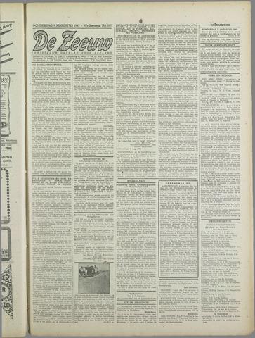 De Zeeuw. Christelijk-historisch nieuwsblad voor Zeeland 1943-08-05
