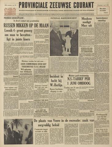 Provinciale Zeeuwse Courant 1963-04-03