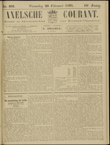 Axelsche Courant 1895-02-20