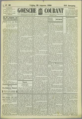 Goessche Courant 1930-08-22