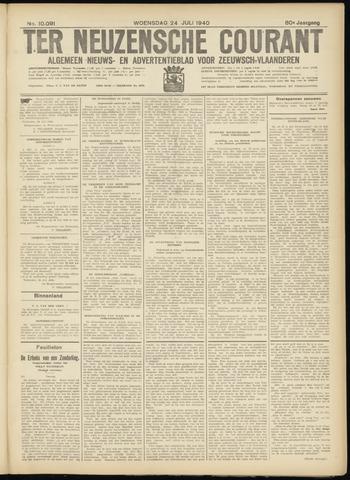 Ter Neuzensche Courant. Algemeen Nieuws- en Advertentieblad voor Zeeuwsch-Vlaanderen / Neuzensche Courant ... (idem) / (Algemeen) nieuws en advertentieblad voor Zeeuwsch-Vlaanderen 1940-07-24