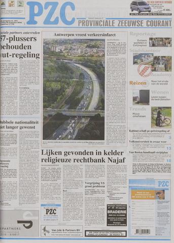 Provinciale Zeeuwse Courant 2004-08-28