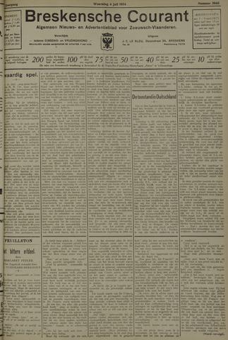 Breskensche Courant 1934-07-04