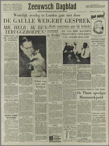 Zeeuwsch Dagblad 1961-10-16