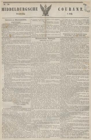 Middelburgsche Courant 1851-07-03