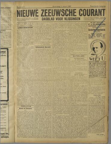Nieuwe Zeeuwsche Courant 1921-01-05
