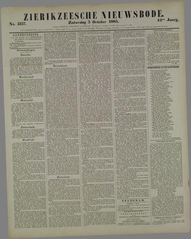 Zierikzeesche Nieuwsbode 1885-10-03