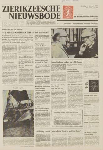 Zierikzeesche Nieuwsbode 1973-02-13