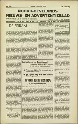 Noord-Bevelands Nieuws- en advertentieblad 1951-03-31