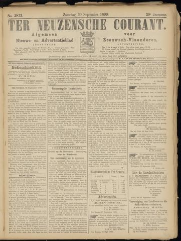 Ter Neuzensche Courant. Algemeen Nieuws- en Advertentieblad voor Zeeuwsch-Vlaanderen / Neuzensche Courant ... (idem) / (Algemeen) nieuws en advertentieblad voor Zeeuwsch-Vlaanderen 1899-09-30