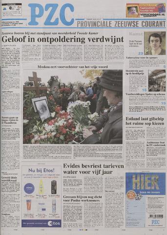 Provinciale Zeeuwse Courant 2006-10-11