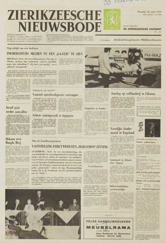 Zierikzeesche Nieuwsbode 1973-04-16