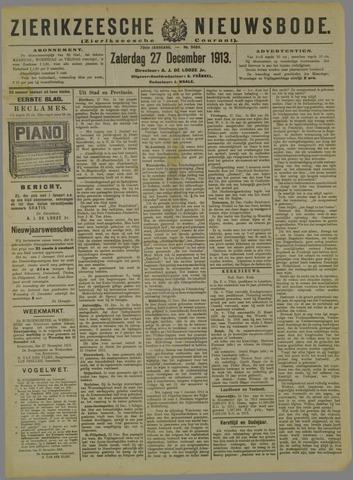 Zierikzeesche Nieuwsbode 1913-12-27