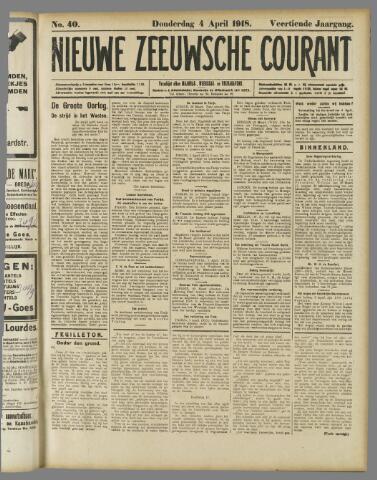 Nieuwe Zeeuwsche Courant 1918-04-04