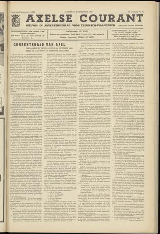 Axelsche Courant 1963-09-28